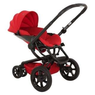 Quinny Mood Stroller Red Velvet