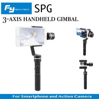 Feiyu FY SPG SplashProof Handheld 3 axis Gimbal Stabilizer for Smartphone /Action Camera