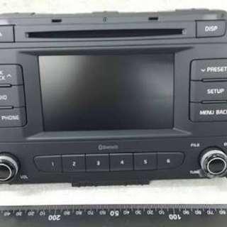 Hyundai mobus radio