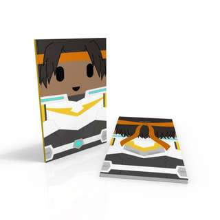 UPDATED Hunk Yellow Paladin - Voltron Legendary Defender notebook