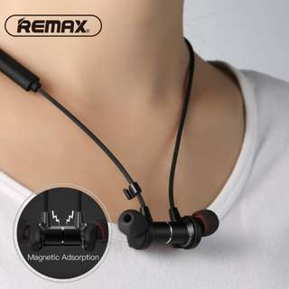 Remax RB-S7 運動藍芽耳機(防水) Bluetooth Headphones, Remax RB-S7 Best Wireless 4.1 Sports Earphones with Mic, Magnetic Earbuds, IPX7 Waterproof, HD Sound with Bass, Noise Cancelling, Secure Fit, Up to 9 Hours Working Time (Black or White)