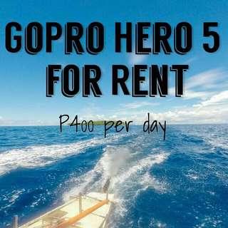 GoPro Hero 5 Rent