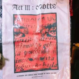 🚚 GD母胎motte演唱會非官方周邊手提袋