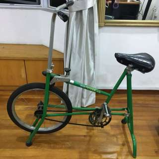 Very rare Antique Exercise stationary bicycle