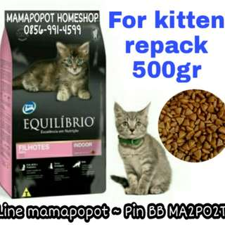 Equilíbrio Kitten 500gr dry food for cats