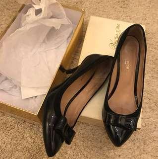 Venilla Suite pump elegant heels shoes with bow