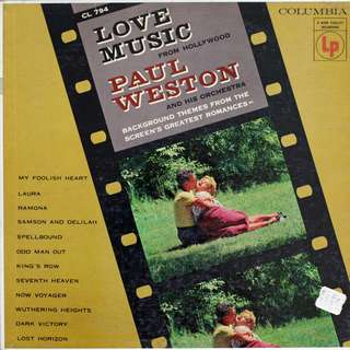 Vinyl LP record, Paul Weston