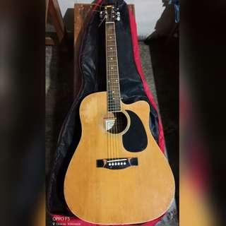 Accoustic Guitar Caraya (Original) + Softcase