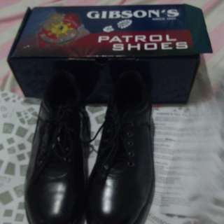 Police Shoes ( Patrol Shoes or Wetlook Shoes