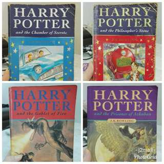 Harry Potter (4 books bundle)