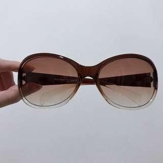 膠框漸層墨鏡 太陽眼鏡 咖啡色