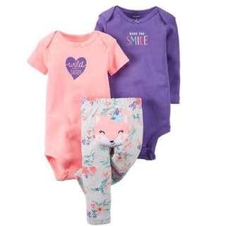 Carter set anak bayi perempuan