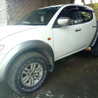 Mitsubishi Strada Manual 2008