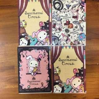 Sanrio san-x sentimental circus L file folder