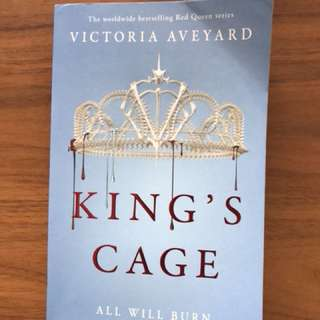Kong's Cage by Victoria Aveyard