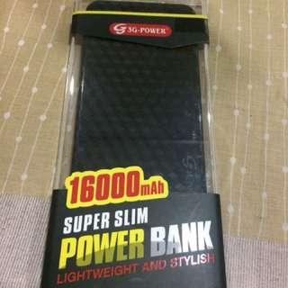 Powerbank 16000mah 5.3mm