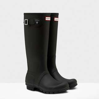 Hunter Original Tall Rain Boots 9