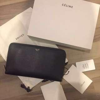 (全新正品)Celina Leather Wallet - Black