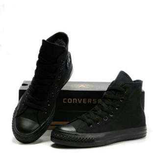 Sepatu Converse Mono Black Hi Vietnam