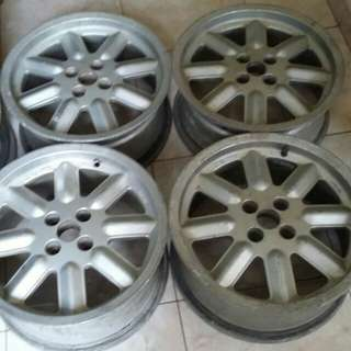 Velg OZ One (envorty) R16, Hole 4, pcd 100, ET 25