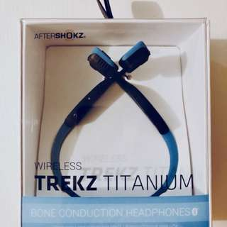 Trekz Titanium Bone Conduction Headphones 骨傳導藍牙運動耳機