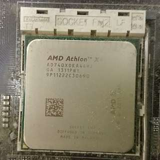 CPU AMD 740 X4 + MB F2A85-M2
