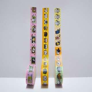 Neko Atsume Washi Tape Set