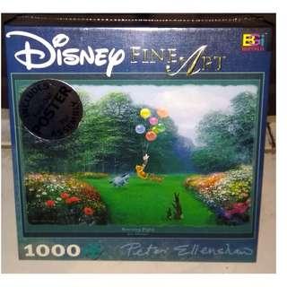 Jigsaw Puzzle 1000 pcs. - Rescuing Piglet - Disney Fine Art