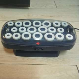 BOUTIQUE THERMO-HEATED HAIR ROLLER SET WITH ON/OFF BUTTON!!! COMES IN A NICE BOX FOR STORAGE!!! RARE!! HURRY!! WHILE STOCK LAST!!  ONLY USE IT ONCE!!  GOOD CONDITION!! HURRY WHILE STOCK LAST!!