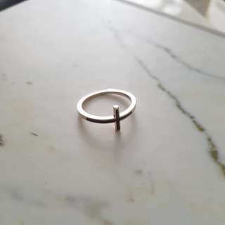 Rose gold ring - sz6 BNWB