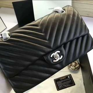 Chanel 2.55 山形紋💖羊皮😍原單~頂級👍