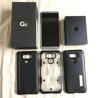 99%新淨行貨有保LG G6 + 全新B&O PLAY耳機 + 正版殼3個