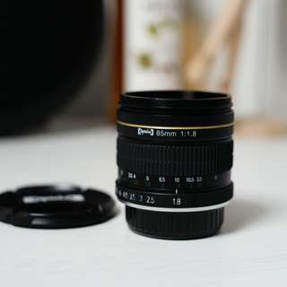 Opteka 85mm 1.8 Nikon Mount