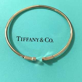 Tiffany玖瑰金手镯