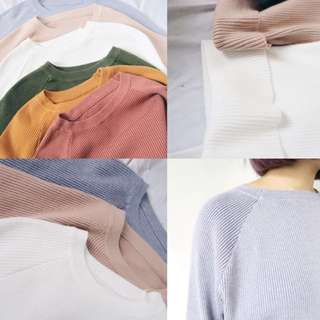 🚚 CUNZ 針織摺袖毛衣