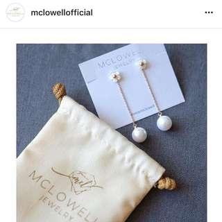 McLowell daisy earrings