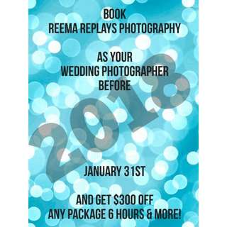 $300 OFF PHOTOGRAPHY SERVICE