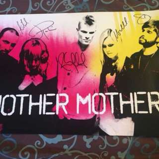 Mother Mother Autographed Poster