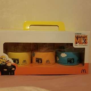 麥當勞minions杯連冰格全新
