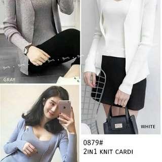 Knit cardi impor