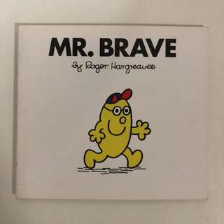 1997 MR. BRAVE by Roger Hargreaves - children's book