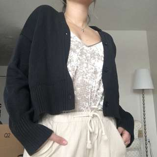 Everlane Knit Cropped Sweater