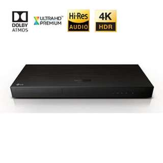 New!- LG 4K Blue Ray Player -LGUP970