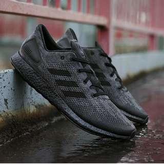 (PO) Adidas Mens Pure Boost DPR Triple Black