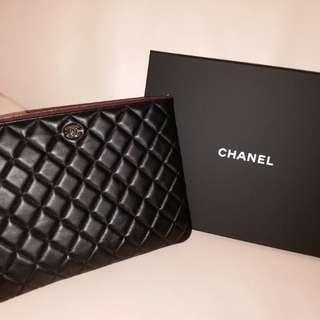 二手(Chanel 香奈兒 手袋A82545 羊皮 黑色)Full Set