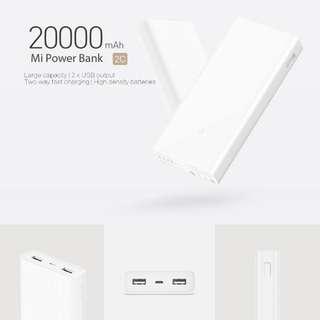Xiaomi PowerBank 2C Power Bank 20000mAh