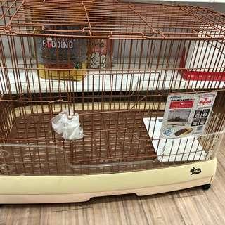Luxurious rabbit cage