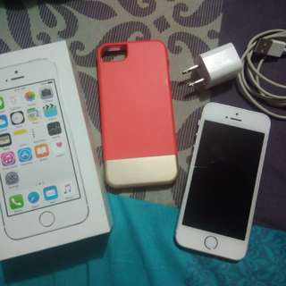Iphone 5s, Silver, 16gb