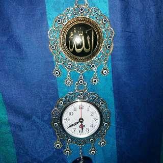 Turkish Clock With Evil Eye