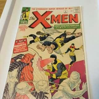 X-men #1 oringinal print-pre-owned.